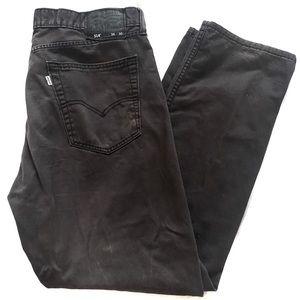 Levi's | Men's 514 Black Straight Leg jeans 36x30